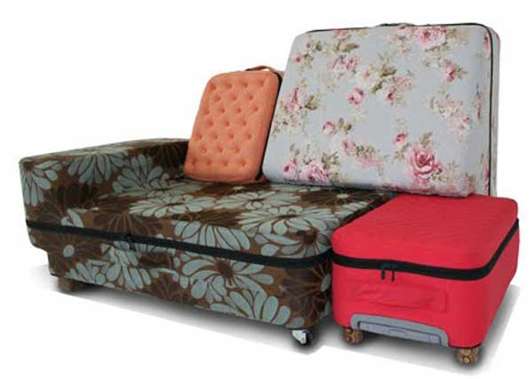 กระเป๋าแปลงร่างเป็นโซฟา..อย่างนี้ก็มีด้วย 14 - idea