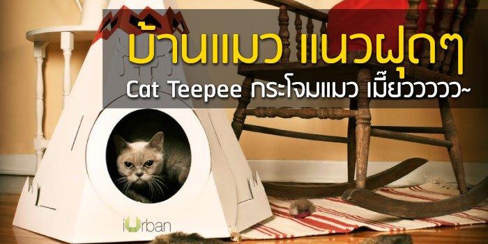 Cat Teepee บ้านน้องแมว แนวฝุดๆ เมี๊ยววว~ 18 - DESIGN