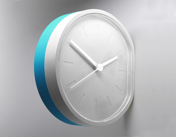 Beside clock 13 - white