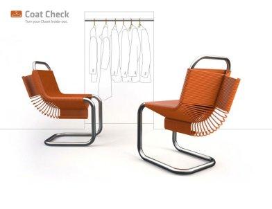 %name Coat Check Chair