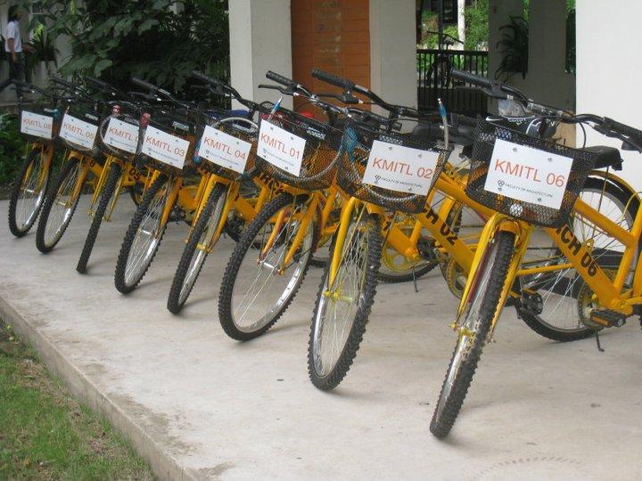"""""""ปั่นปัน""""..'ถาปัด ลาดกระบัง ช่วยโลกผ่านการปั่นจักรยาน 13 - go green"""