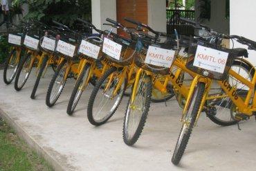 """""""ปั่นปัน""""..'ถาปัด ลาดกระบัง ช่วยโลกผ่านการปั่นจักรยาน 27 - GREENERY"""