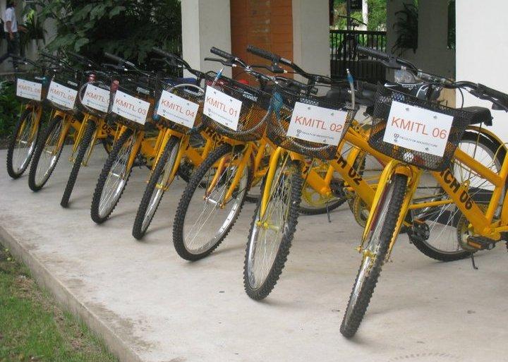 """""""ปั่นปัน""""..'ถาปัด ลาดกระบัง ช่วยโลกผ่านการปั่นจักรยาน 23 - go green"""