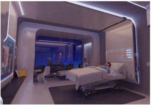 หน้าตาโรงพยาบาลในปี 2020 18 - modern urban living