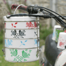 %name Eva Hand Painted Tiffin