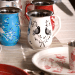 Eva Hand Painted Tiffin 14 - Containers
