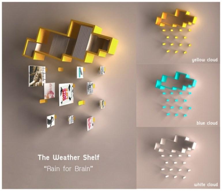 "The weather shelf : ""Rain for Brain"" 13 - rain and brain"