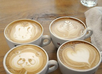 ศิลปะบนกาแฟ@Cafe Rosso 24 - coffee shop