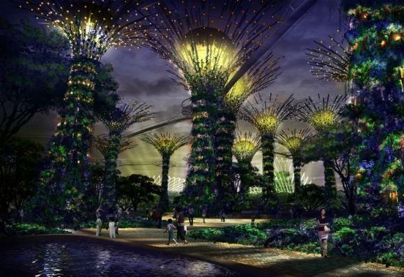 Garden by the bay..สวนใหญ่ทีสุดที่สิงคโปร์ทุ่มทุนสร้าง 14 -