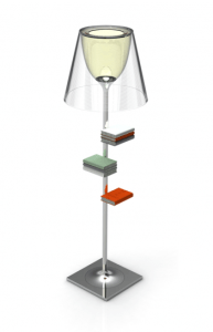 bibliotheque nationale 18 - Lamp