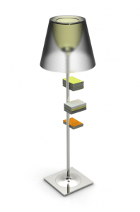 bibliotheque nationale 17 - Lamp
