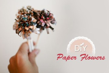 DIY paper flower 4 - DIY