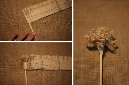 %name DIY paper flower