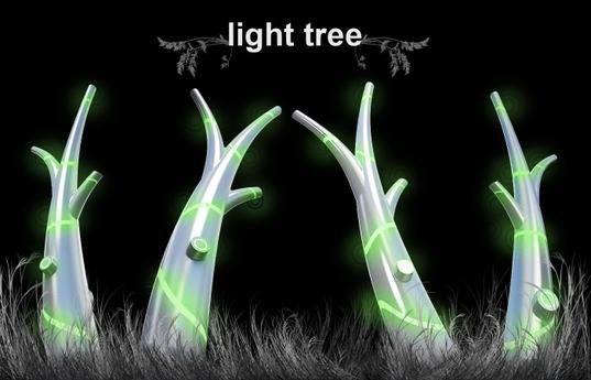 Solar Light Tree..ต้นไม้ให้แสงสว่างใช้พลังงานจากแสงอาทิตย์ 14 - Solar cell