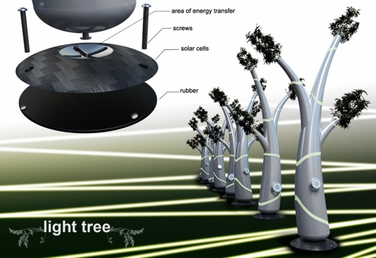 Solar Light Tree..ต้นไม้ให้แสงสว่างใช้พลังงานจากแสงอาทิตย์ 15 - Solar cell