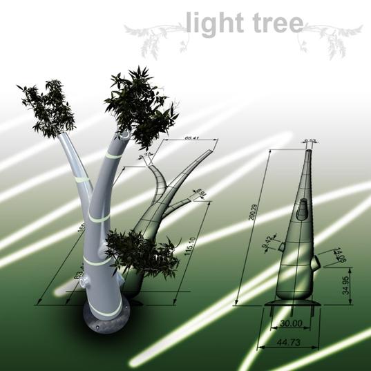 rsz omar huerta light tree 3 Solar Light Tree..ต้นไม้ให้แสงสว่างใช้พลังงานจากแสงอาทิตย์