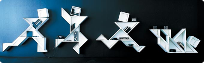 Forward Thinking Shelves For Your Home 13 - contemporary art