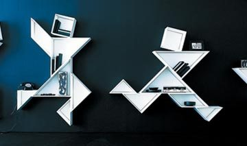 Forward Thinking Shelves For Your Home 2 - contemporary shelves