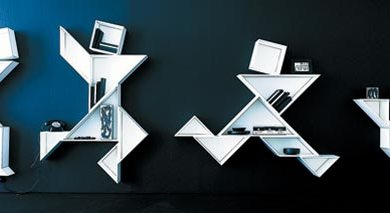 Forward Thinking Shelves For Your Home 16 - contemporary art