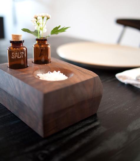 DIY project: Wood bud vase and Salt dish 13 -