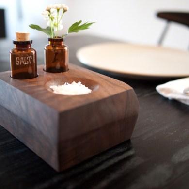 DIY project: Wood bud vase and Salt dish 16 -