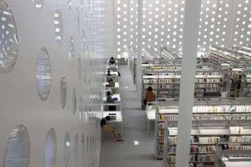 Kanazawa Iibrary  2 - Iibrary