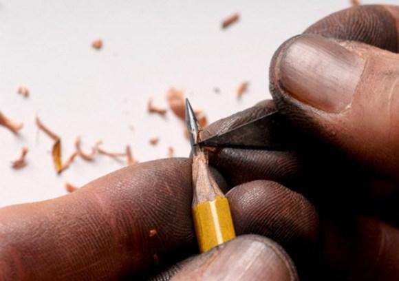 sculptures จากดินสอ 14 - Dalton Ghetti