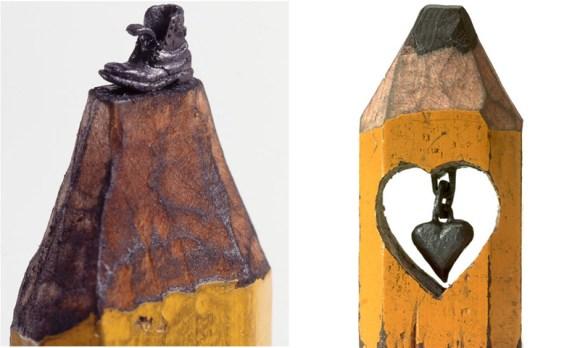 sculptures จากดินสอ 15 - Dalton Ghetti