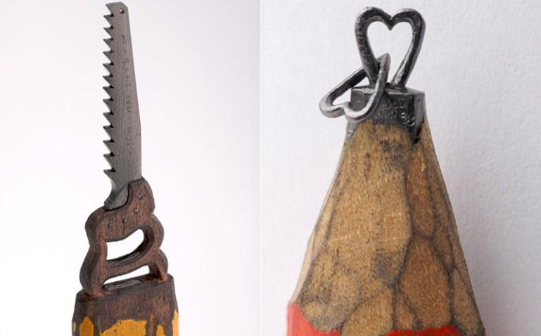 sculptures จากดินสอ 13 - Dalton Ghetti