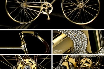Gold Crystal Bike Limited 2 - AURUMANIA