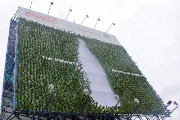 PLant Billboard ช่วยดูดซับมลภาวะของเมือง 14 - WWF