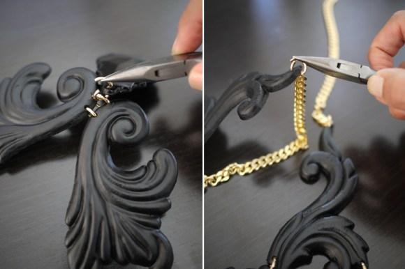 psnecklace5 580x386 DIY.Black necklace