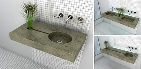 Zen garden sink อ่างล้างมือรักษ์โลก 14 - sink