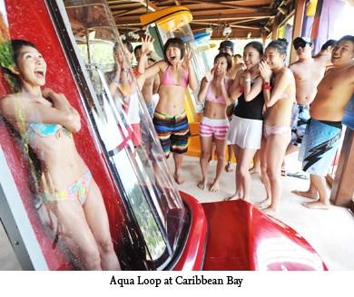 Aqua Loop เครื่องเล่นสุดชิคที่สวนน้ำ Caribbean bay 22 - Aqua Loop