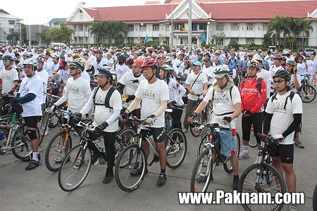 IMG 3166 Car Free Day ในทุกๆวันที่แซมเปีย กับจักรยานไม้ไผ่