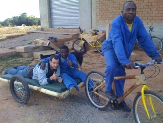 Zambikes Bamboo Biking 1 Car Free Day ในทุกๆวันที่แซมเปีย กับจักรยานไม้ไผ่