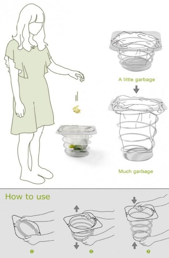 Dustbin of Many Sizes 15 - bin