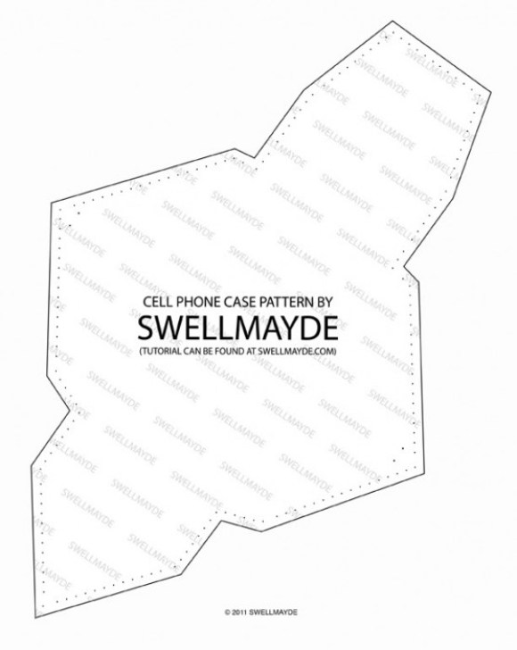 swellmayde pattern 1 1 580x728 DIY.Phone case