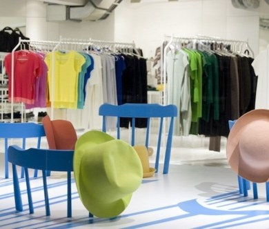 ISSEY MIYAKE : Window Display by 2D/3D Chairs 25 - ISSEY MIYAKE