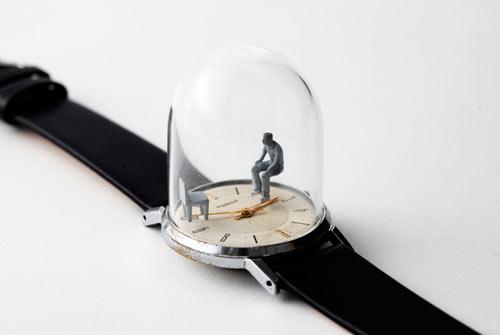 Watch Sculptures 15 - Dominic wilcox