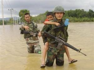 Thai soldier,HERO อุทกภัย 54 20 -