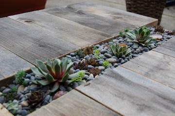 D.I.Y.โต๊ะปลูกต้นไม้..จากลังไม้เก่า