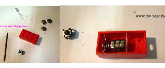 DIY เลโก้ไฟฉายพกพา-ยามน้ำท่วม 14 -