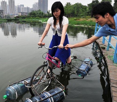 Pic1 floating bicycle