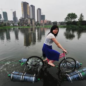 floating bicycle 24 - Architecture