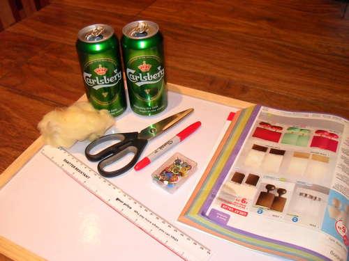 Step 1 DIY เตาแอลกอฮอล์จากกระป๋องน้ำอัดลม