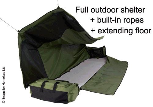 Backpack Bed เตียงนอนเคลื่อนที่พกพาได้ 15 -