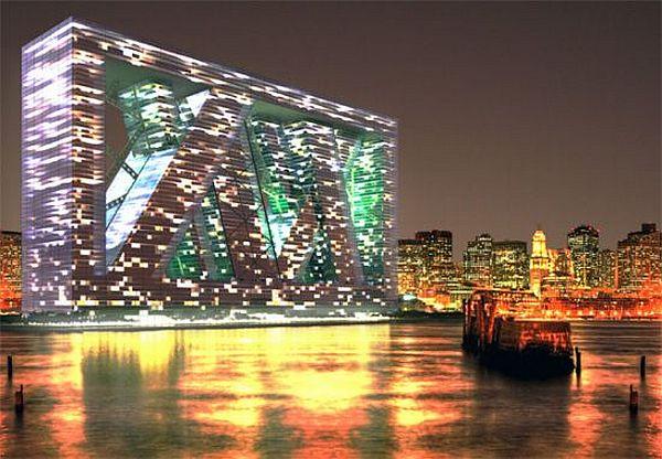 โลกวันพรุ่งนี้ เราอาจต้องปรับตัวอยู่กับน้ำ Floating Architecture 15 - Architecture