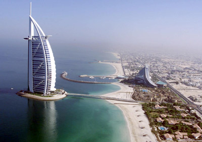 โรงแรม Burj Al Arab Hotel ที่ก่อสร้างบนพื้นที่ที่มาจากการถมทะเล 15 - Hotel