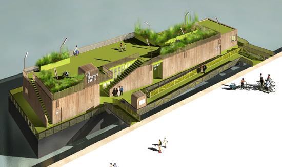 โลกวันพรุ่งนี้ เราอาจต้องปรับตัวอยู่กับน้ำ Floating Architecture 7 - Architecture